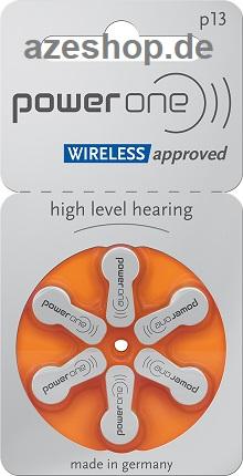 PowerOne p13 Hörgerätebatterien